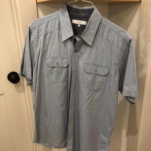 PD&C Shirt/ button up short sleeve